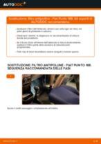 Come cambiare filtro antipolline su Fiat Punto 188 benzina - Guida alla sostituzione