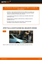 FIAT PUNTO (188) Dischi Freno sostituzione: tutorial PDF passo-passo