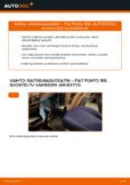 FIAT PUNTO Kallistuksenvakaajan kumit vaihto: ilmainen pdf