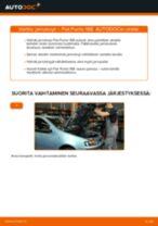 FIAT PUNTO Kallistuksenvakaajan Puslat vaihto: ohjekirja