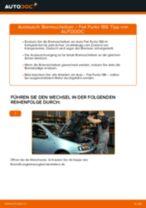 Wie Fiat Punto 188 Benzin Bremsscheiben vorne wechseln - Anleitung