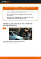 Wie Fiat Punto 188 Benzin Bremsbeläge vorne wechseln - Anleitung