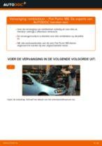 PDF handleiding voor vervanging: Remblokset FIAT PUNTO (188) achter en vóór