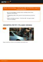 Manuell PDF för PUNTO underhåll