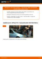 FIAT PUNTO Van (199) navodila za popravilo in vzdrževanje