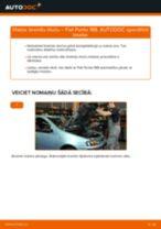 Mainīties FIAT PUNTO (188) Amortizators - soli-pa-solim pamācības PDF