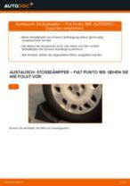 Wie Fiat Punto 188 Benzin Stoßdämpfer hinten wechseln - Anleitung