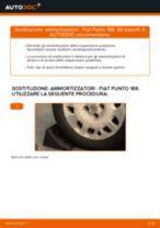 Come cambiare ammortizzatori della parte posteriore su Fiat Punto 188 benzina - Guida alla sostituzione