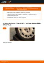 FIAT PUNTO reparera bruksanvisning