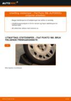 Bytte Bremseskiver bak og foran CHEVROLET gjør-det-selv - manualer pdf på nett