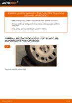 Jak vyměnit přední a zadní Brzdové Destičky DAEWOO udělej si sám - online návody pdf