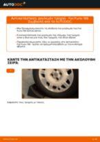 Πώς να αλλάξετε ρουλεμάν τροχού πίσω σε Fiat Punto 188 βενζίνη - Οδηγίες αντικατάστασης