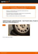 Como mudar amortecedores da parte traseira em Fiat Punto 188 gasolina - guia de substituição