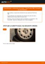 Instruções gratuitas online sobre como substituir Apoio Caixa do Rolamento da Roda FIAT PUNTO (188)