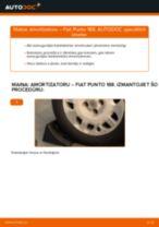 FIAT aizmugurē un priekšā Amortizators nomaiņa dari-to-pats - tiešsaistes instrukcijas pdf