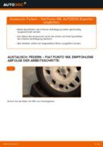 Wie Fiat Punto 188 Benzin Federn hinten wechseln - Anleitung