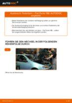 Wie Fiat Punto 188 Benzin Federbein vorne wechseln - Anleitung