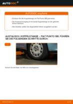 Wie Fiat Punto 188 Benzin Koppelstange vorne wechseln - Anleitung