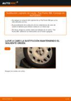 Cómo cambiar: cojinete de rueda de la parte trasera - Fiat Punto 188 gasolina | Guía de sustitución