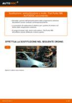 Come cambiare ammortizzatore a molla della parte anteriore su Fiat Punto 188 benzina - Guida alla sostituzione