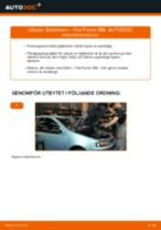 Verkstadshandbok för Fiat Punto mk3 199