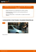 Skifte Baklyspære FIAT PUNTO: gratis pdf