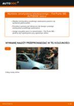 Jak zmienić Zestaw osłon układ kierowniczy FIAT PUNTO: darmowy pdf
