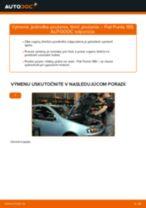 Vymeniť Tlmiče perovania FIAT PUNTO: zadarmo pdf