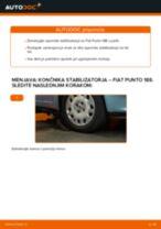 Navodila po korakih za popravilo Fiat Punto Evo