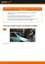 Manual online sobre a substituição de Apoio Caixa do Rolamento da Roda em TOYOTA YARIS (SCP9_, NSP9_, KSP9_, NCP9_, ZSP9_)