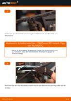 Wie Wischerblätter VW PASSAT wechseln und einstellen: PDF-Leitfaden