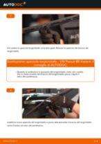 Come cambiare spazzole tergicristallo della parte anteriore su VW Passat B5 Variant diesel - Guida alla sostituzione