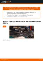 Πώς να αλλάξετε φιλτρο καυσιμου σε VW Passat B5 Variant diesel - Οδηγίες αντικατάστασης