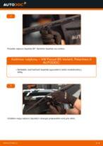Nemokamos internetinės instrukcijos kaip atnaujinti Stiklo valytuvai VW PASSAT Variant (3B6)
