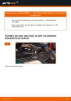 Schritt-für-Schritt-PDF-Tutorial zum Ladeluftkühler-Austausch beim VW PASSAT Variant (3B6)