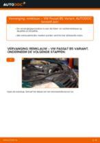 Hoe remklauw vooraan vervangen bij een VW Passat B5 Variant diesel – vervangingshandleiding