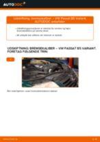 Udskift bremsekaliber for - VW Passat B5 Variant diesel | Brugeranvisning