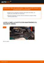 Cómo cambiar: filtro de combustible - VW Passat B5 Variant diésel | Guía de sustitución
