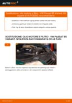Come cambiare olio motore e filtro su VW Passat B5 Variant diesel - Guida alla sostituzione