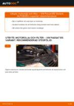 Byta motorolja och filter på VW Passat B5 Variant diesel – utbytesguide