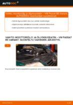VW PASSAT huoltokirja