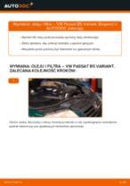 Jak wymienić oleju silnikowego i filtra w VW Passat B5 Variant diesel - poradnik naprawy