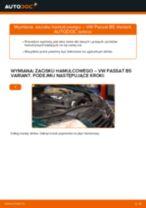 Jak wymienić zacisku hamulcowego przód w VW Passat B5 Variant diesel - poradnik naprawy