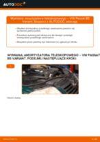 Jak wymienić amortyzator teleskopowy przód w VW Passat B5 Variant diesel - poradnik naprawy