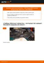 Jak vyměnit přední pérovací jednotka na VW Passat B5 Variant diesel – návod k výměně