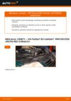 Vgraditi Vzmeti VW PASSAT Variant (3B6) - priročniki po korakih