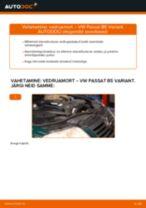 Automehaaniku soovitused, selleks et vahetada välja VW Passat 3B6 1.8 T 20V Õhufilter
