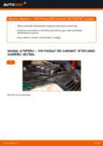 Kā nomainīt un noregulēt Piekare VW PASSAT: pdf ceļvedis