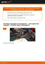 Pakeisti Amortizatorius VW PASSAT: instrukcija