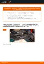 Hoe veerpoot vooraan vervangen bij een VW Passat B5 Variant diesel – vervangingshandleiding